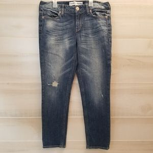 {6} Express Ankle Boyfriend Low Rise Jean